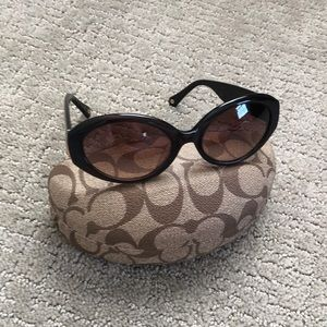 Authentic Coach Ashley Sunglasses with Case
